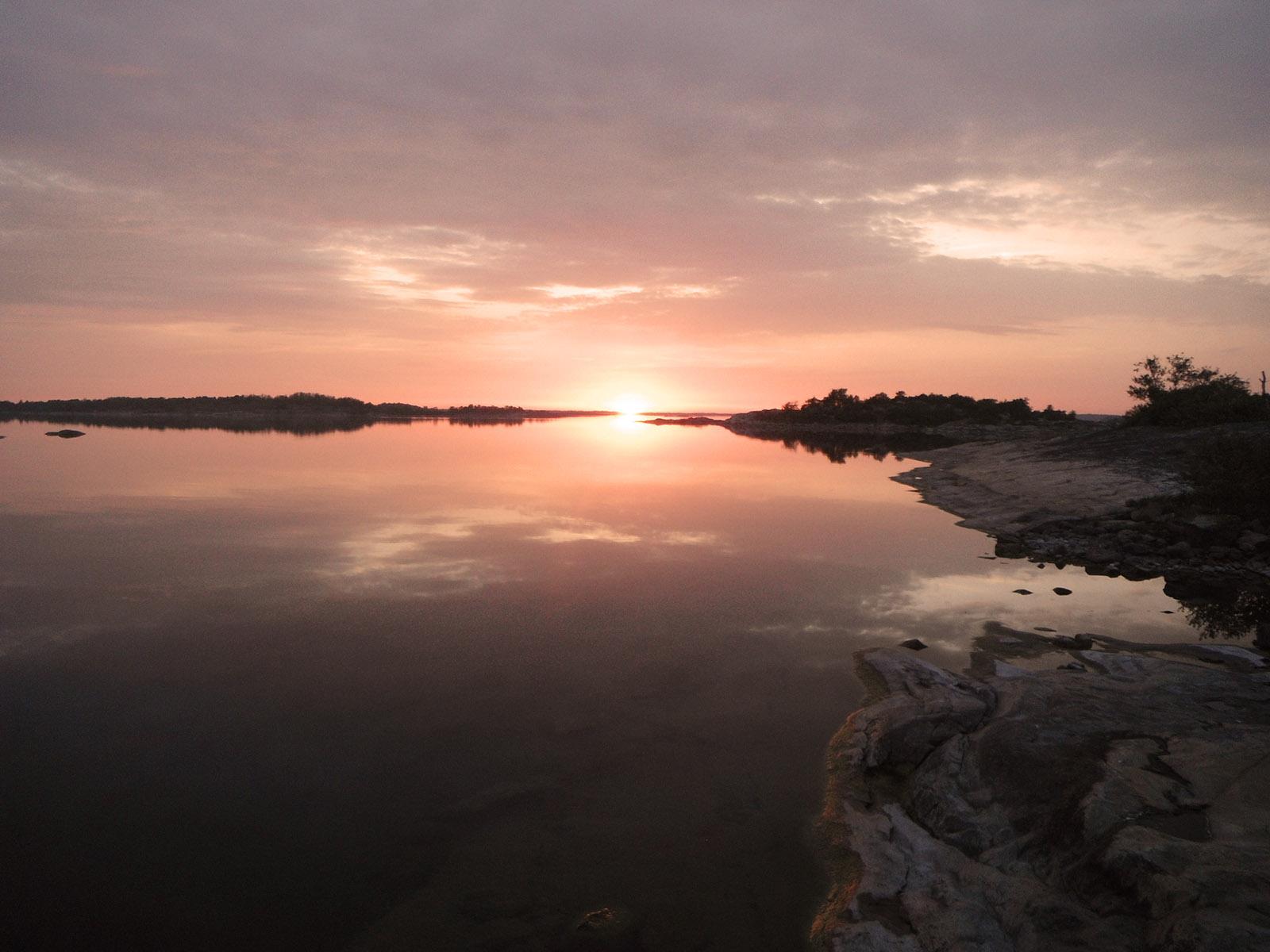 Lever et coucher de soleil